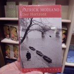 Modiano-Buch Der Horizont im Buchhnadel (Bild: A. Bach)