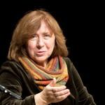 Swetlana Alexijewitsch bei einer Lesung im Literaturhaus Köln 2013, Bild: Elke Wetzig (wikipedia