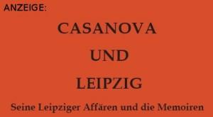Casanova und Leipzig