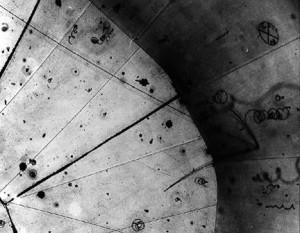 Erste Neutrino-Beobachtung in einer Blasenkammer 1970