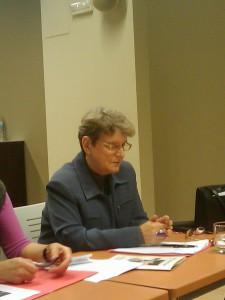 Svetlana Gannushkina 2009 auf der Runion Konferenz in Spanien (Bild: Paul Rios)